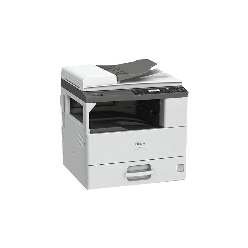理光(Ricoh)M 2700 A3黑白数码复合机 标配盖板+单纸盒(双面打印/复印/扫描/网络)