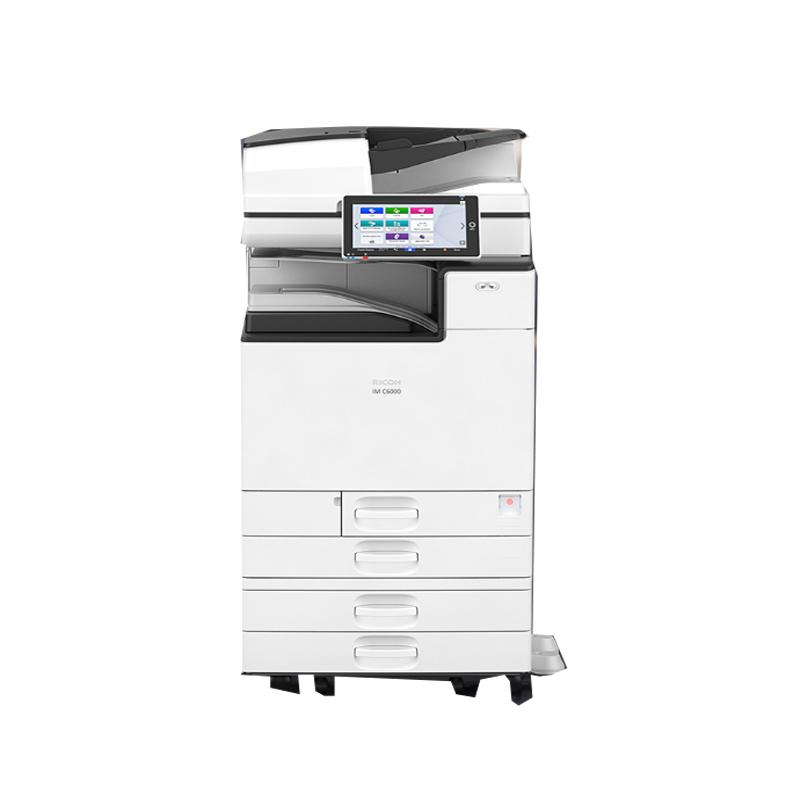 理光(Ricoh)IM C6000 A3彩色多功能数码复合机 主机+双面同步送稿器(免费上门安装+1年售后)